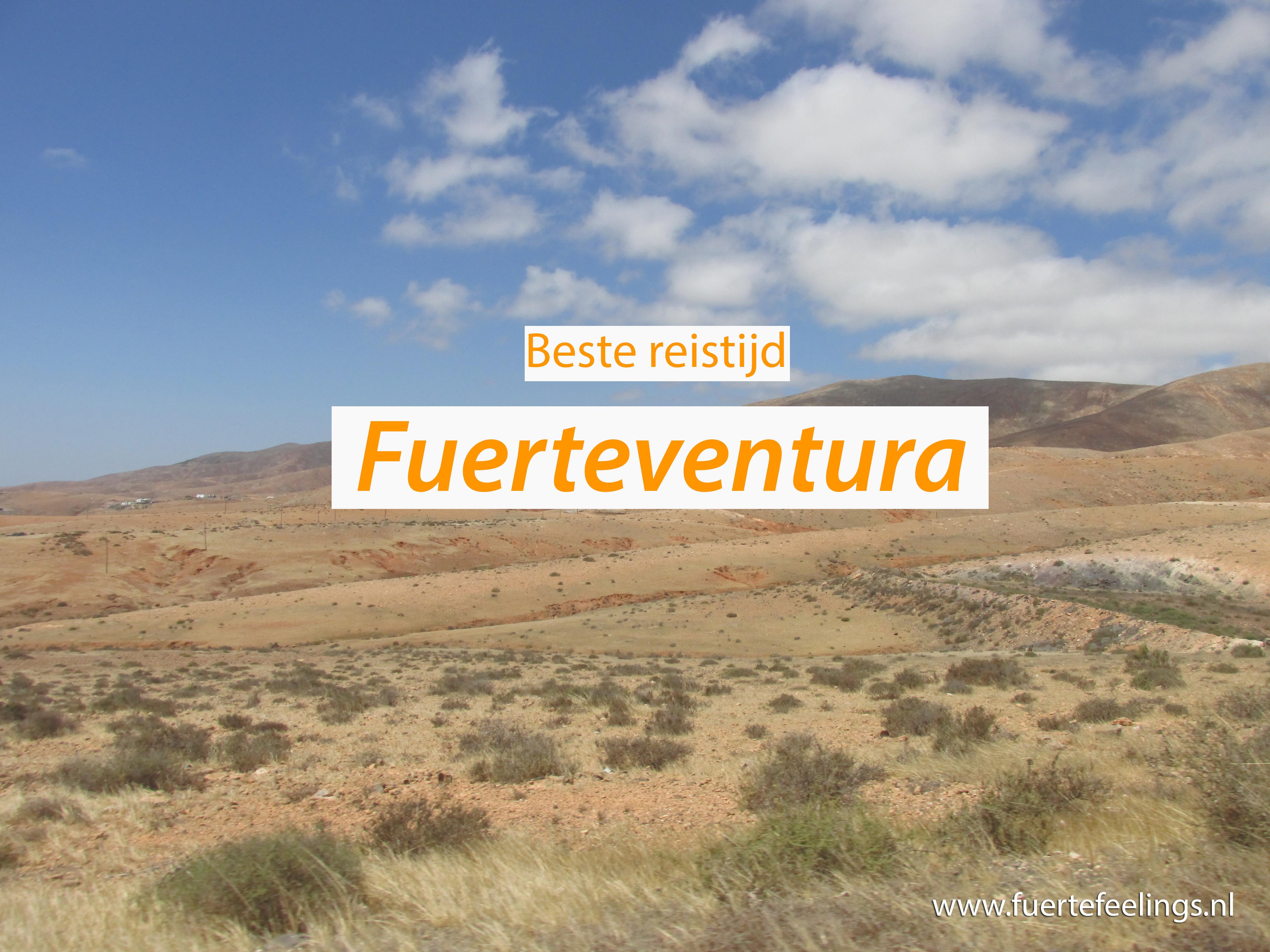 Beste reistijd Fuerteventura
